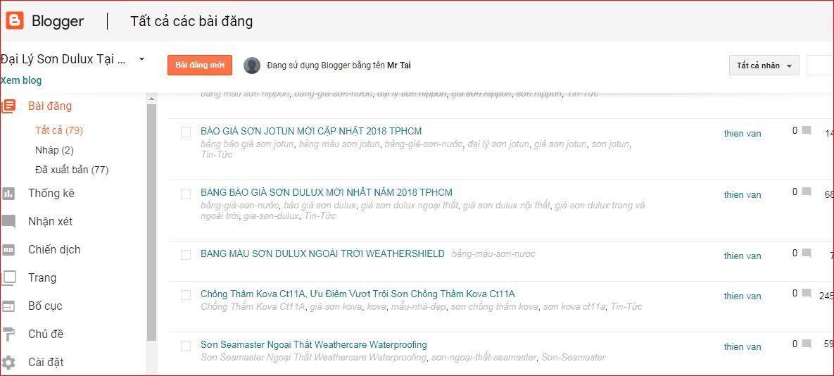 giao dien blogspot
