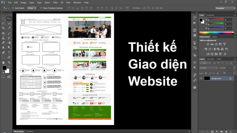 thiet ke website bang photoshop 768x432